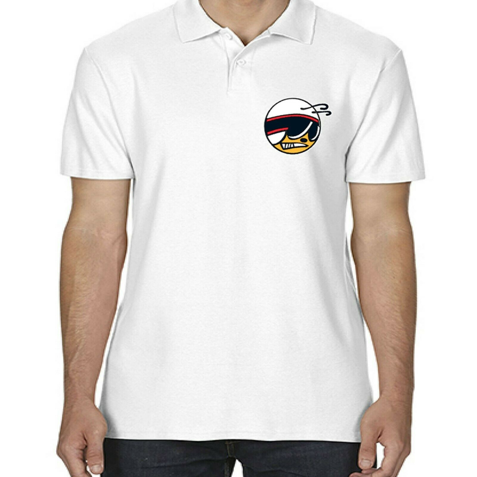 3c41f396 Mens Licensed Dodge Super Bee Polo Shirt American Classic V8 Muscle ...