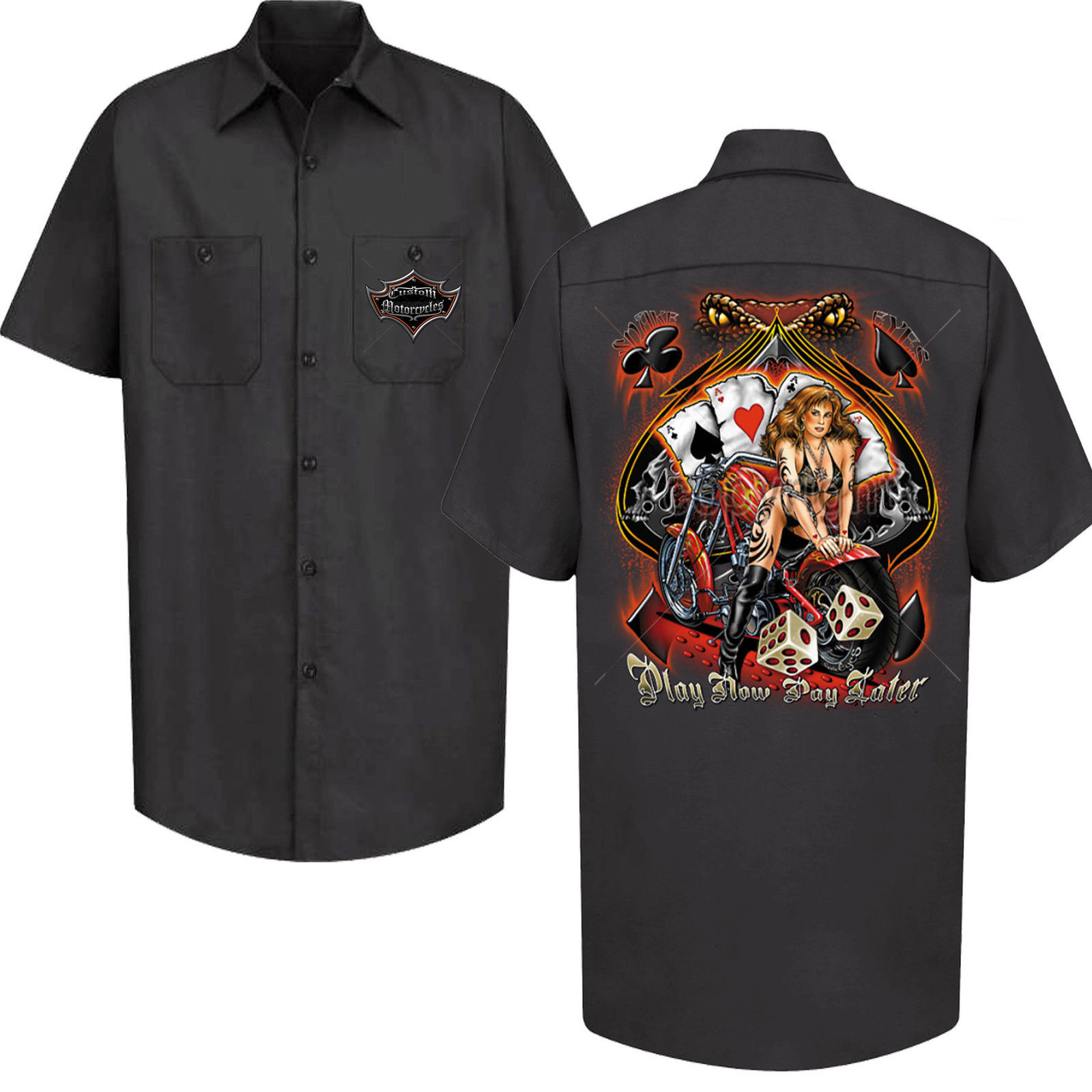 Custom Garage Work Shirts Bcd Tofu House