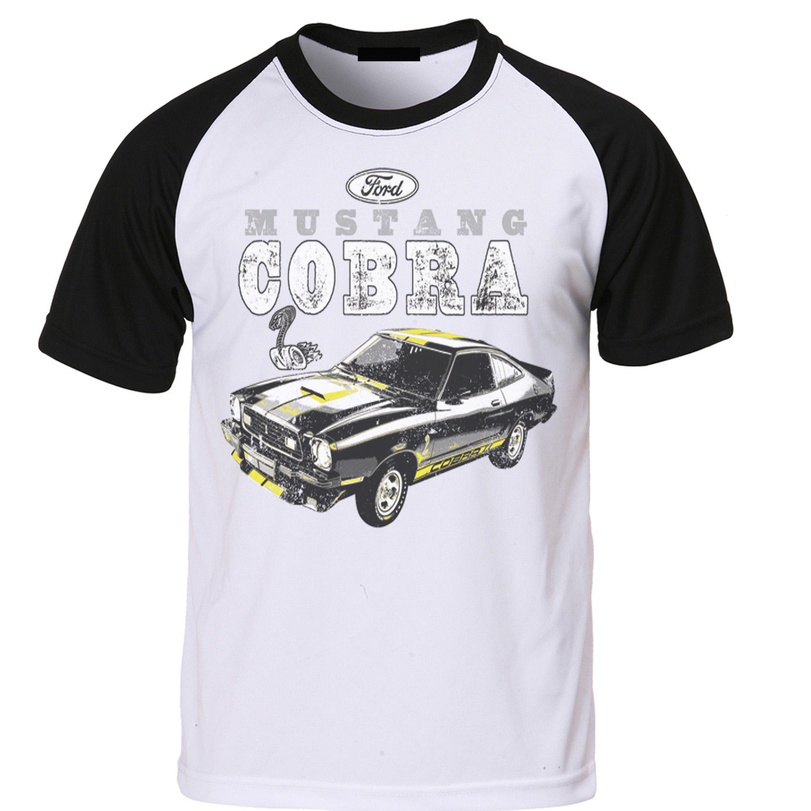 Mens Ford Mustang T Shirt Licensed Cobra Pony Shelby